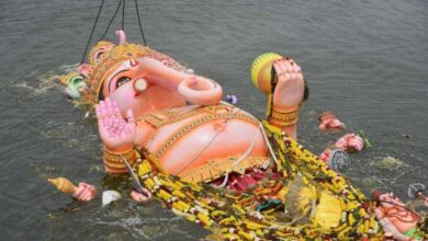 Photo of Hyderabad: Khairatabad Ganesh to turn just one feet this year