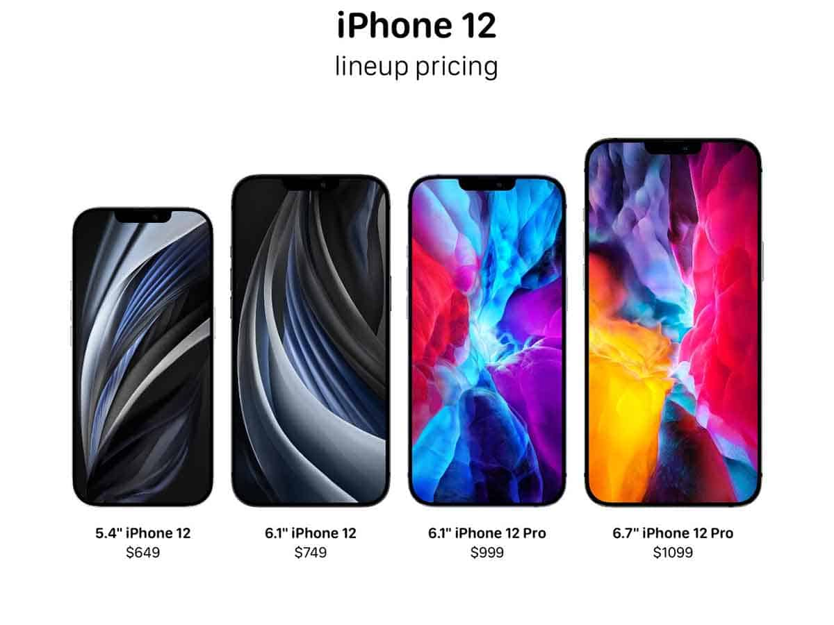 iPhone 12 5G lineup likely to start from $649