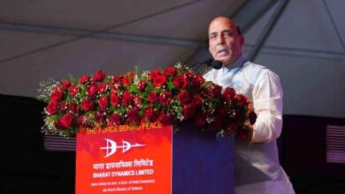 Photo of Corona warriors: Rajnath Singh lauds armed forces gesture
