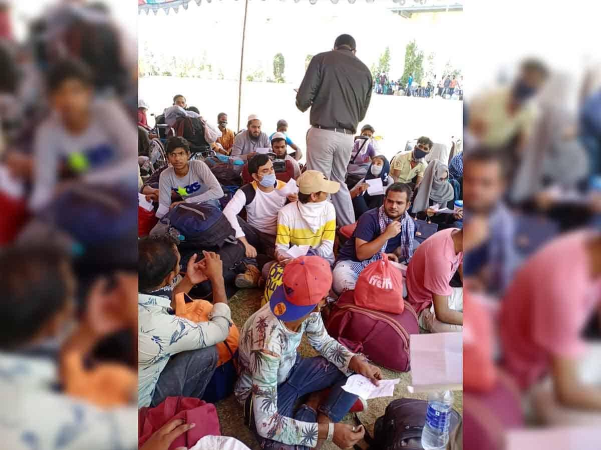 Non-local students of MANUU CTE Srinagar to return home soon