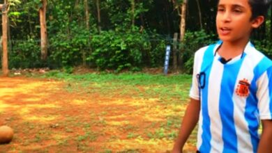 Photo of Kerala: 12-year-old boy's Messi-esque free kick goes viral