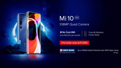 Mi 10 5G with 108MP quad-camera starts from Rs 49,999 in India