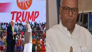 Photo of 'Cases against Tablighi, what about Namaste Trump?': Yashwant