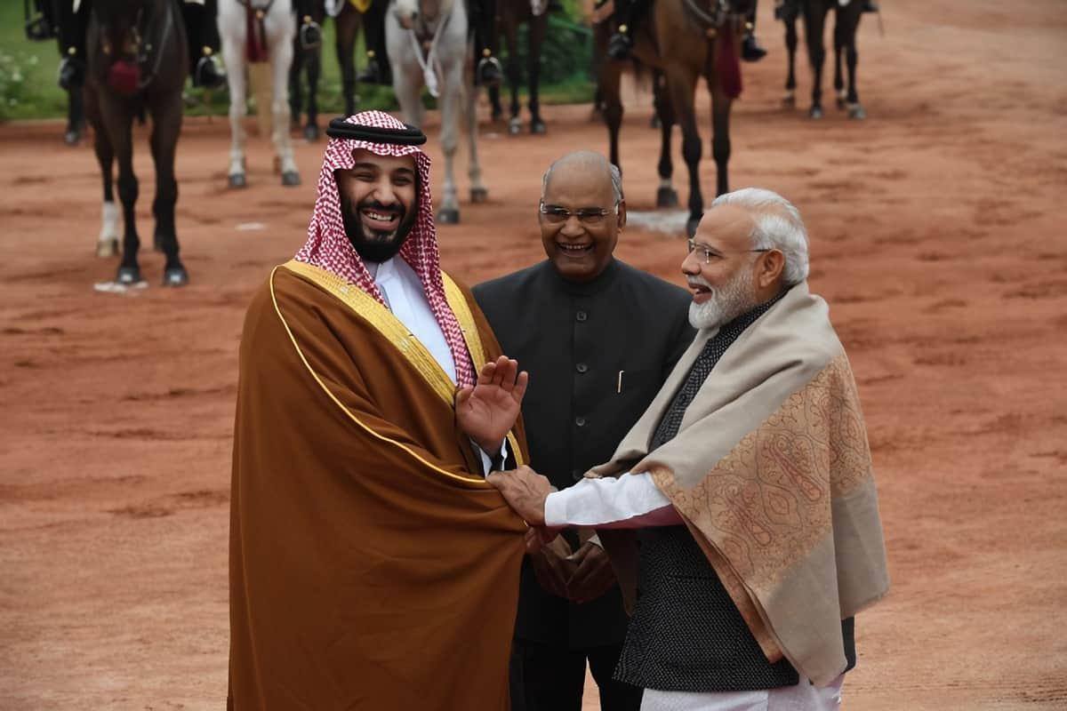 India Saudi ties