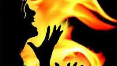 Photo of 14-year-old schoolgirl burnt alive