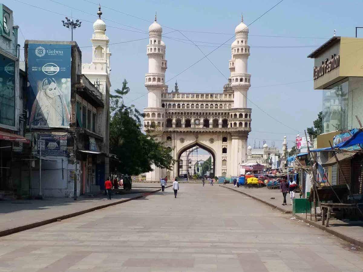 shops at Charminar