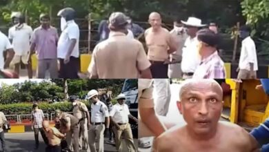 Photo of Cop ties Dalit doc's hands, drags him on road for slamming govt.