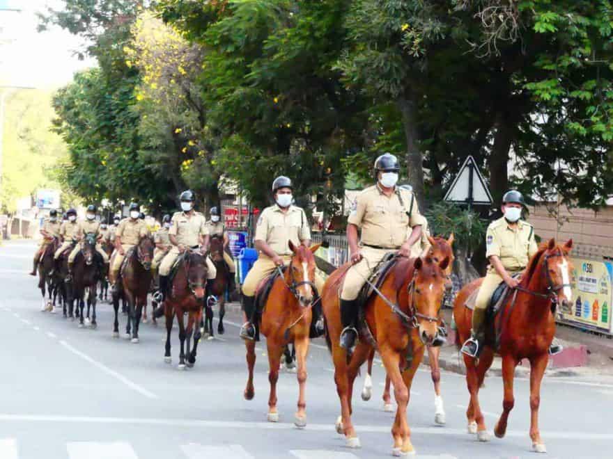 Hyderabad: 10 cops test positive for corona