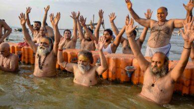 Photo of Ganga Dussehra in India amid lockdown