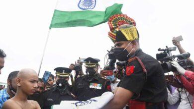 Photo of Photos: Havildar Sunil Kumar's cremation