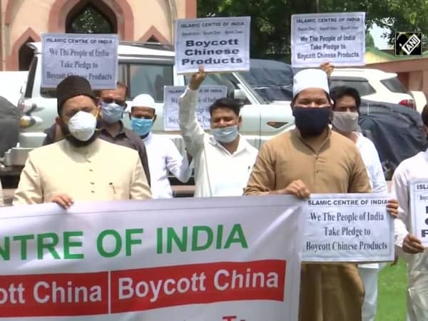 Islamic center of India takes pledge to boycott Chinese goods