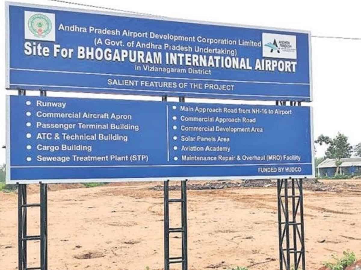 GVIAL to develop and operate Bhogapuram Airport