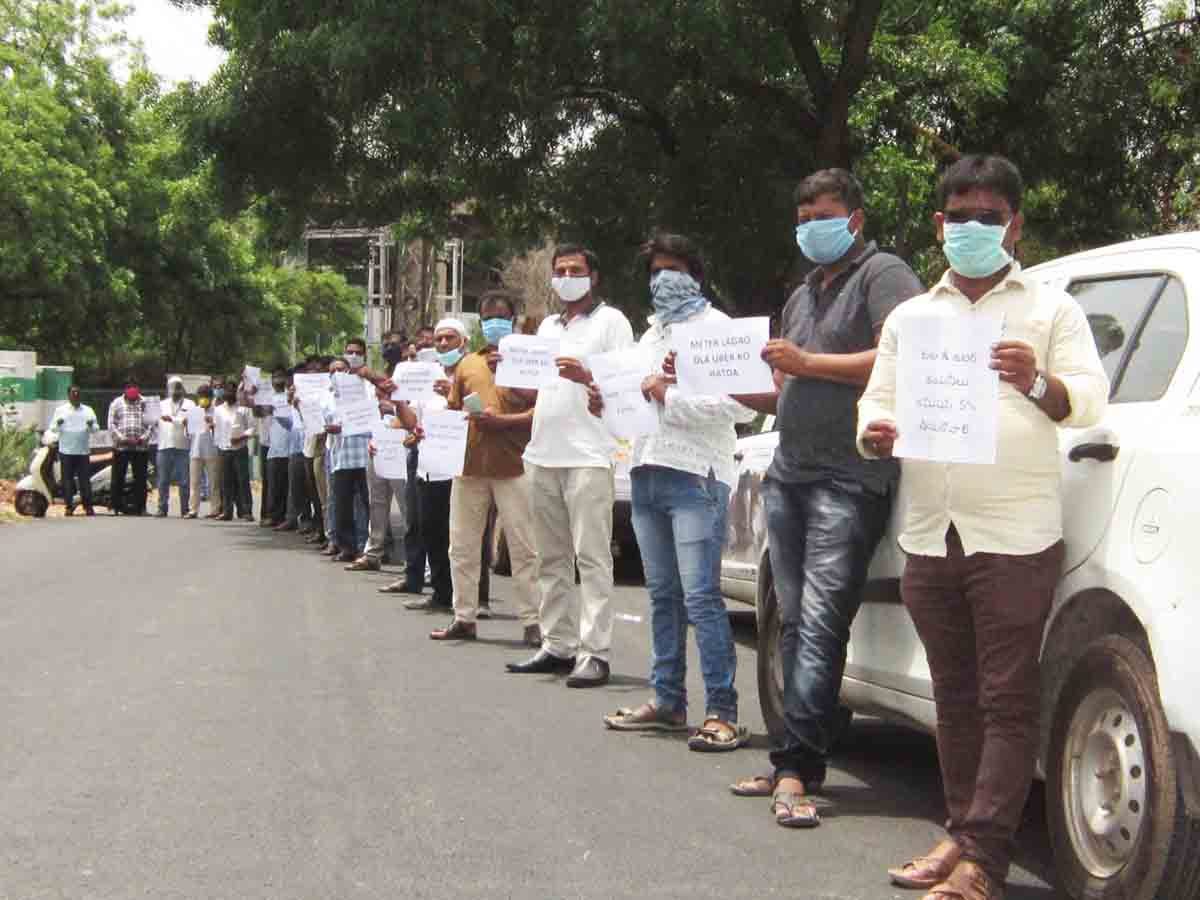 App-based workers demand PPE kits and health insurance