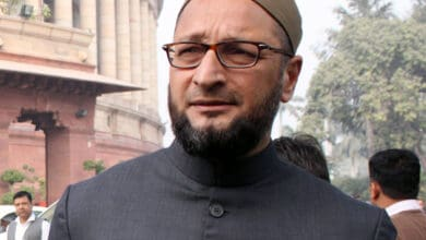 Photo of Owaisi opposes Modi's participation in Bhoomi pujan