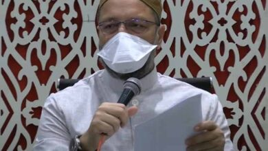Photo of Owaisi calls for social distancing in mosques post-lockdown