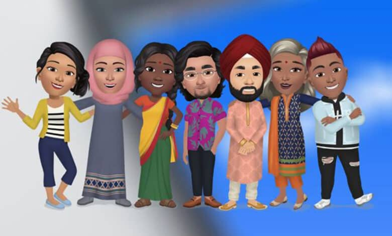 Create your digital avatar on Facebook in India