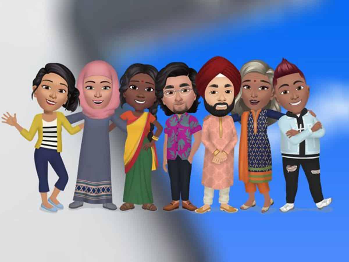 Create your digital avatar on Facebook in India