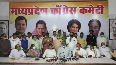 Photo of Over two dozen BSP leaders join Congress in MP