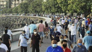 Photo of Thousands of Mumbaikars begin to walk and jog at Marine drive