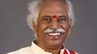 Photo of 'People's politician' Bhandaru Dattatreya