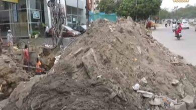 Photo of Hyderabad: Tolichowki Nizam Colony road and Drainage work delay