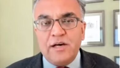Photo of Professor of Global Health Ashish Jha's special interview