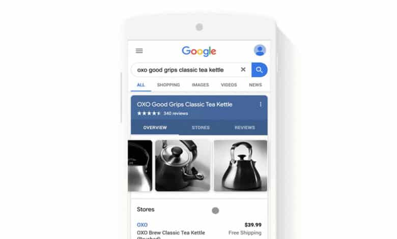 Google brings free retail listings to main Search page