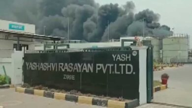 Photo of Guj: 5 dead, 40 injured as boiler blast causes fire in factory
