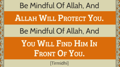 Photo of BE MINDFUL OF ALLAH, AND ALLAH Will PROTECT YOU