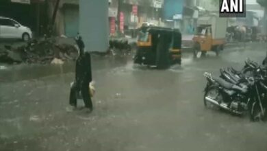 Photo of Heavy rains lead to water-logging in Thane
