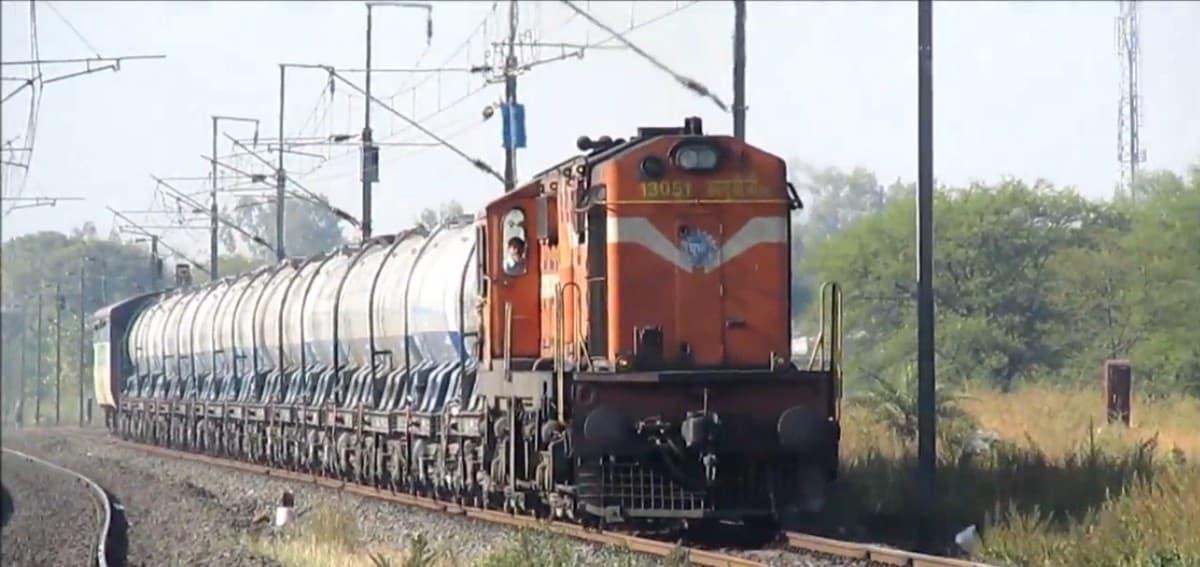 Special milk train crosses 1 crore litre mark