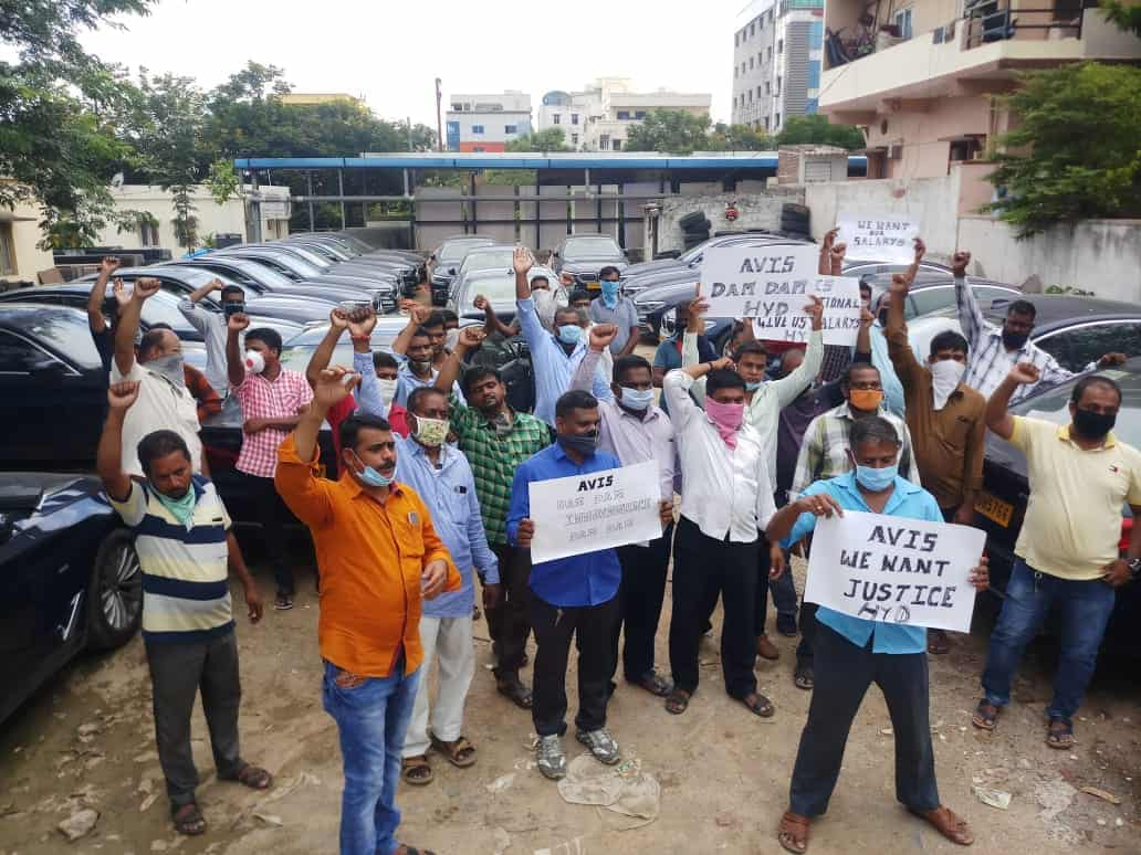 Telangana drivers yearn for salaries