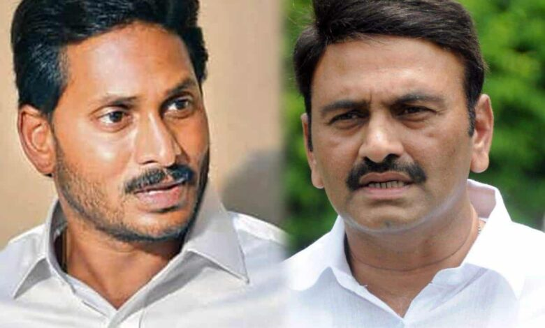 Is Raju instigating CM Jagan to sack him?