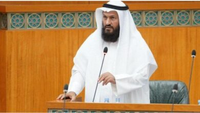 "Photo of Kuwaiti MP calls for probing ""Hindutva"" doctors treating Arabs"