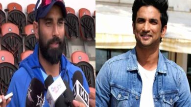 Photo of Mohammed Shami deeply shocked over suicide of Sushant Singh