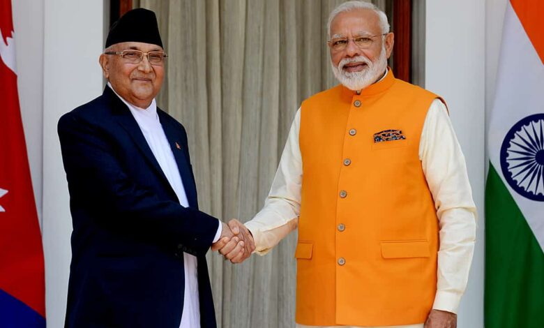 Nepal hitting at India, prompted by China?
