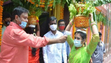 Photo of Bonalu festival begins with safety norms during COVID scare