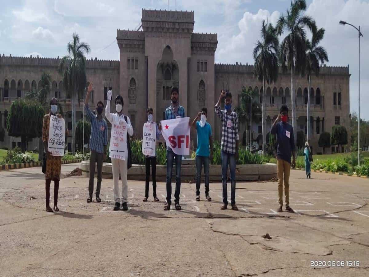 TS: OU Students demand semester fee waiver