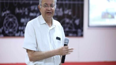 Hyderabad physicist Sidharth claimed universe is flat 23 yrs ago