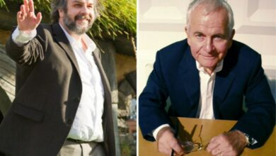 Photo of 'Lord of the Rings' director Peter Jackson pays tribute to Ian Holm
