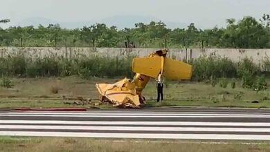 Photo of Trainer aircraft crashes in Odisha, 2 killed