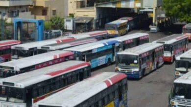 RTC buses in Hyderabad