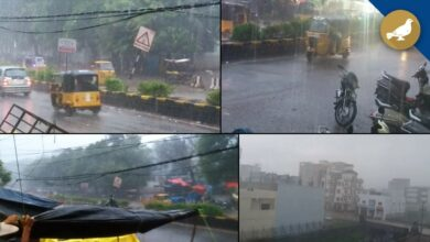 Photo of Heavy rains in Hyderabad leave city with flooded streets