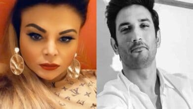 "Photo of Rakhi Sawant trolled for claiming ""Sushant Singh is coming back"""