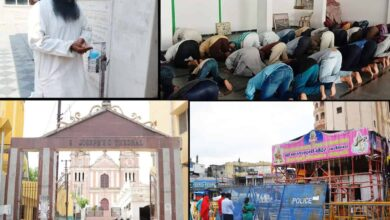 Photo of Places of worship open but fewer devotees are visiting