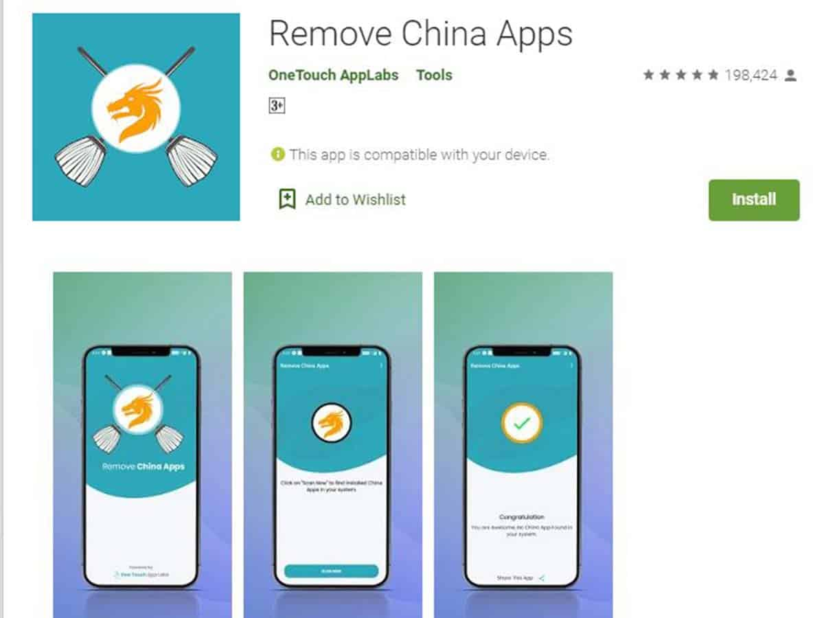 'Remove China Apps' crosses 5 million downloads on Google Play