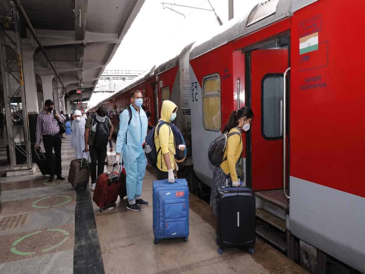 Cancellation of train tickets due to reduction in train stoppages