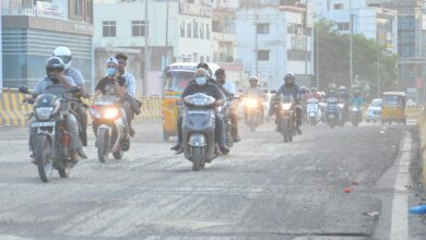 Photo of Tolichowki roads troublesome for pedestrians and vehicles