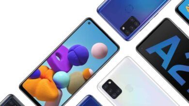 Photo of Galaxy A21s with quad camera setup, 5000mAh battery in India