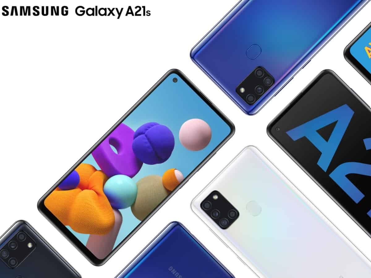 Galaxy A21s with quad camera setup, 5000mAh battery in India